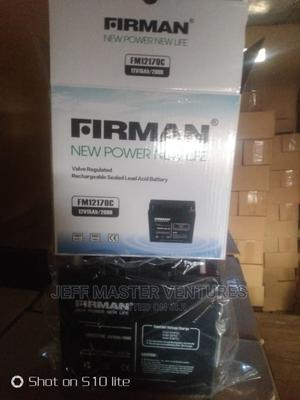 Firman Rechargeable Batteries | Solar Energy for sale in Lagos State, Ojo