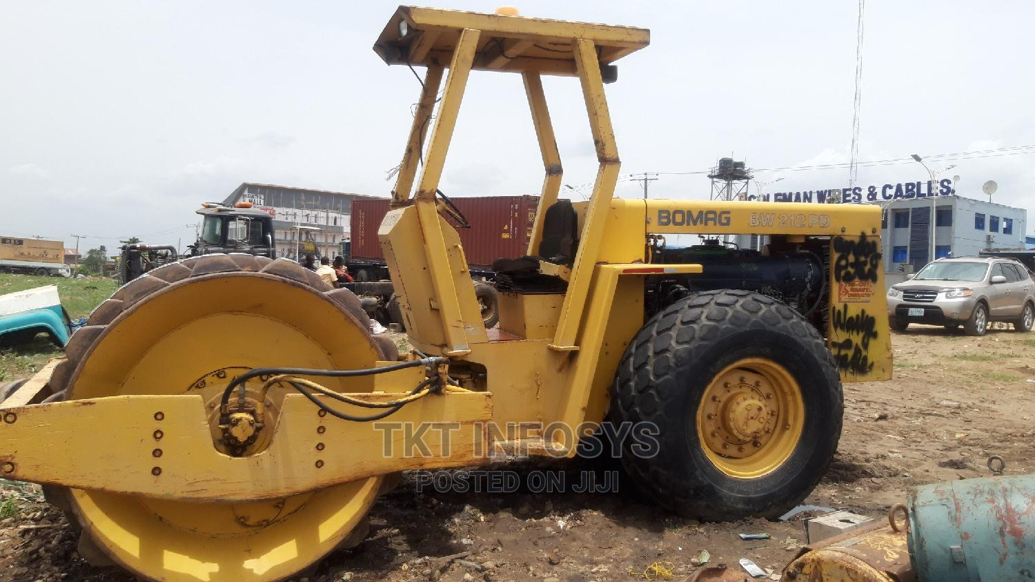 BOMAG BW 212 PD Compactor Roller   Heavy Equipment for sale in Ojodu, Lagos State, Nigeria