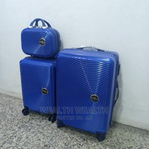 Swiss Polo Unisex 3 Set Suitcase Trolley Blue Bag   Bags for sale in Lagos State, Ikeja
