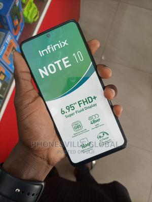 New Infinix Note 10 128 GB Blue | Mobile Phones for sale in Abuja (FCT) State, Wuse 2