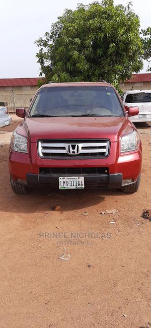 Honda Pilot 2006 EX 4x4 (3.5L 6cyl 5A) Red   Cars for sale in Kaduna State, Kaduna / Kaduna State
