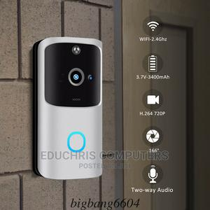 M10 2.4G Wireless Wifi Smart Doorbell Camera Video Remote   Security & Surveillance for sale in Lagos State, Ikeja