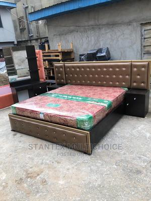 6by6 Upholstery Bedframe   Furniture for sale in Lagos State, Lekki