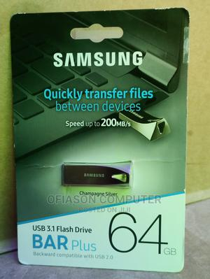 Samsung Flash 64gb Bar Plus | Computer Accessories  for sale in Lagos State, Ikeja