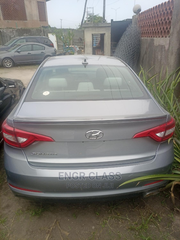 Hyundai Sonata 2017 Silver | Cars for sale in Amuwo-Odofin, Lagos State, Nigeria