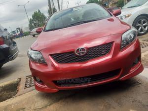 Toyota Corolla 2009 Red   Cars for sale in Lagos State, Ikeja
