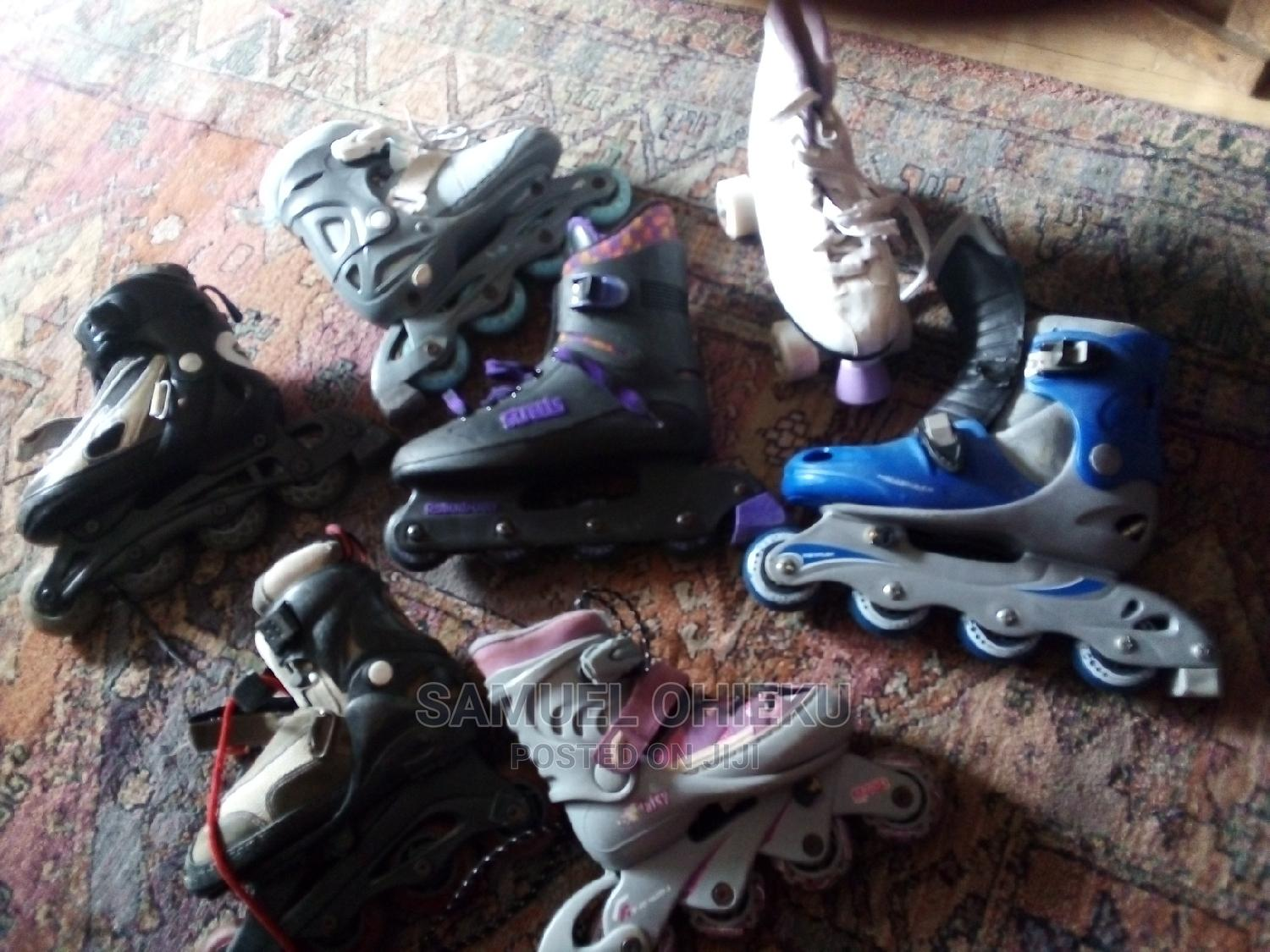 Archive: Skating Boots/ Tyre Boots