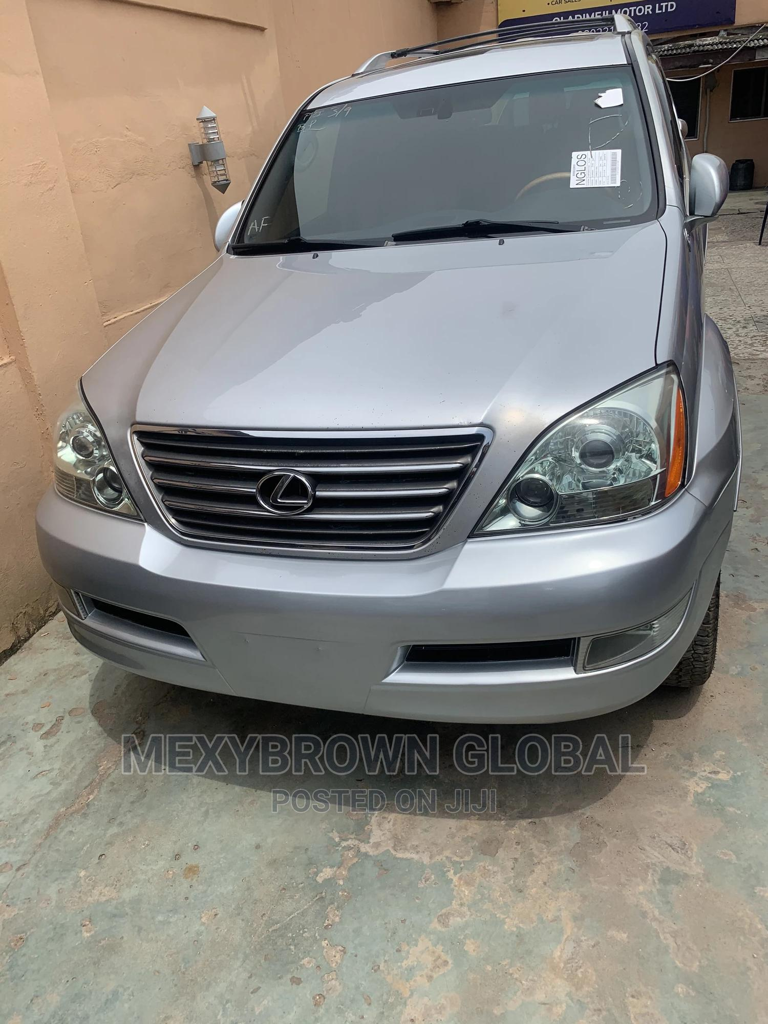 Lexus GX 2007 470 Silver | Cars for sale in Surulere, Lagos State, Nigeria
