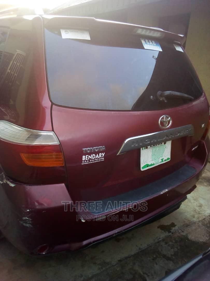 Toyota Highlander 2008 Red | Cars for sale in Ojodu, Lagos State, Nigeria