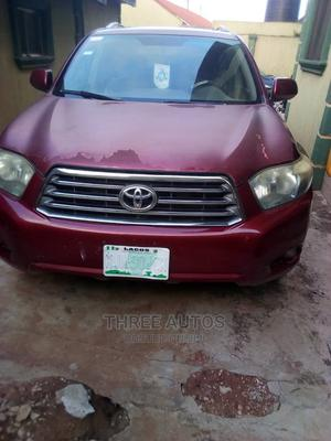 Toyota Highlander 2008 Red | Cars for sale in Lagos State, Ojodu