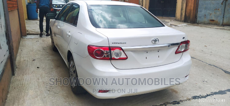 Archive: Toyota Corolla 2013 White