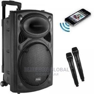 Rechargeable Bluetooth PA System With Wireless Microphone Ra | Audio & Music Equipment for sale in Lagos State, Ikeja