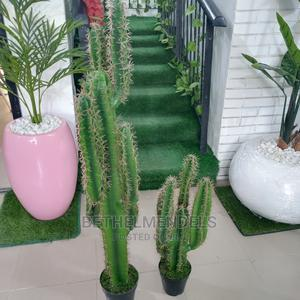Availble Faux Potted Interor Decor Cactus Plant for Sale   Garden for sale in Lagos State, Ikeja