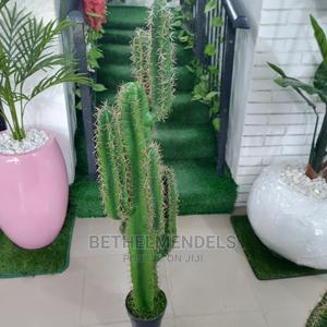 Quality Faux Aritificail Potted Cactus Plant Fpor Sale   Garden for sale in Lagos State, Ikeja