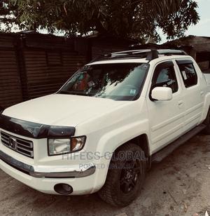 Honda Ridgeline 2007 White   Cars for sale in Lagos State, Ojo