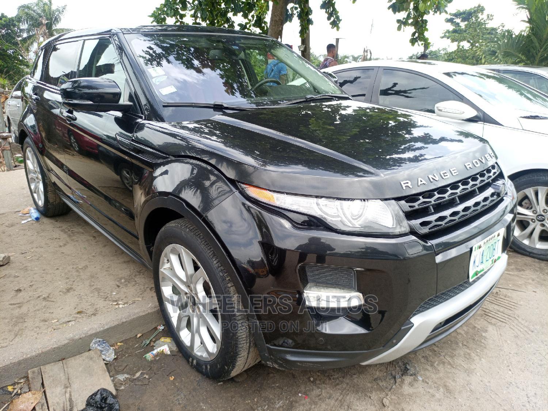 Archive: Land Rover Range Rover Evoque 2013 Pure Plus AWD Black