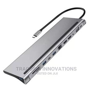 USB Type C Hub 12 in 1 | Accessories & Supplies for Electronics for sale in Lagos State, Yaba
