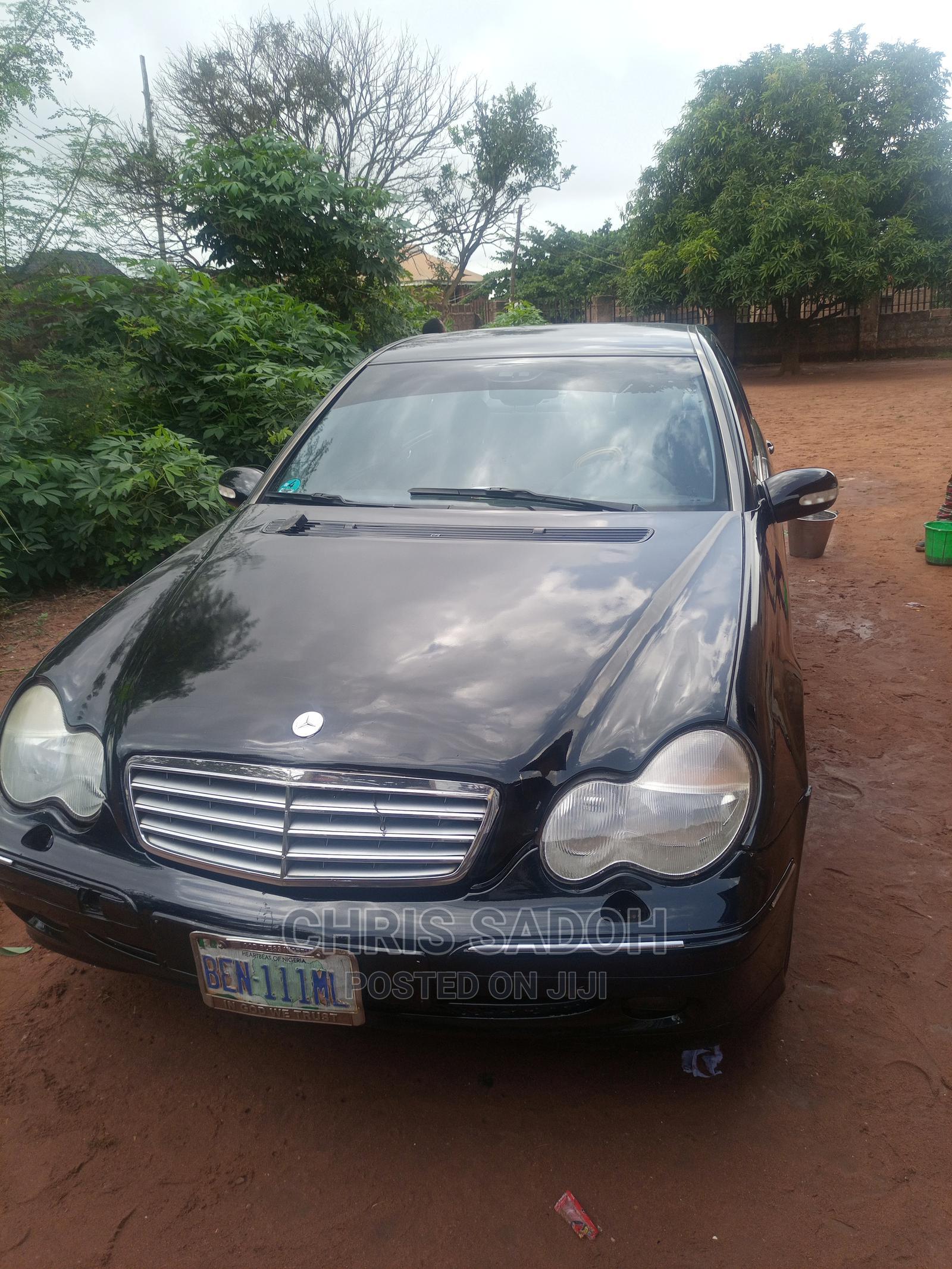 Mercedes-Benz C240 2003 Black | Cars for sale in Esan North East, Edo State, Nigeria