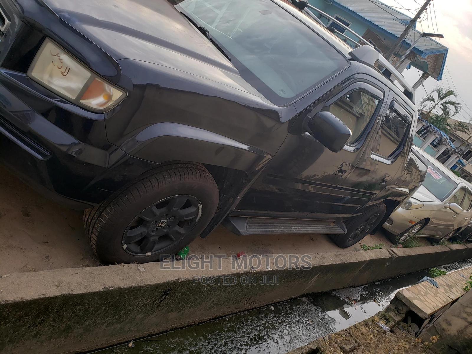 Honda Ridgeline 2007 Black   Cars for sale in Agege, Lagos State, Nigeria