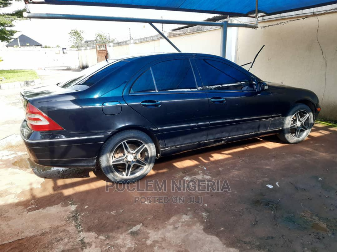 Mercedes-Benz C240 2003 Black   Cars for sale in Benin City, Edo State, Nigeria