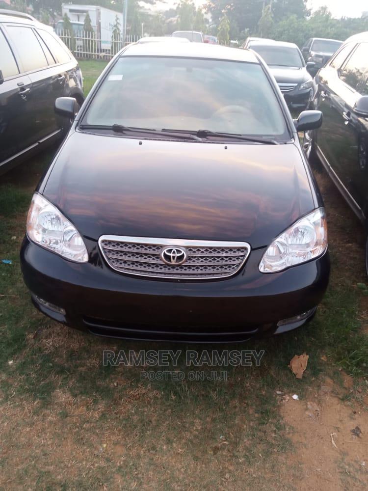 Toyota Corolla 2004 Black