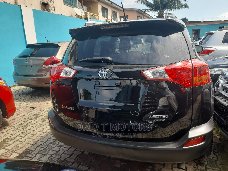Toyota RAV4 2015 Black | Cars for sale in Ikeja, Lagos State, Nigeria