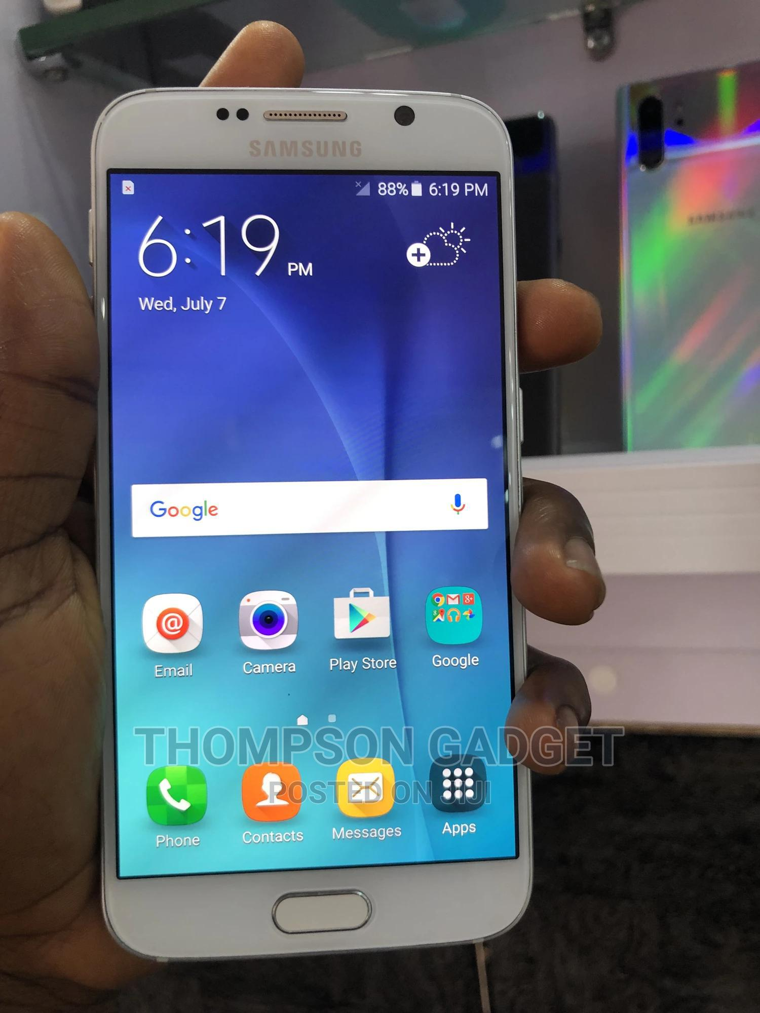 Samsung Galaxy S6 32 GB White | Mobile Phones for sale in Wuse, Abuja (FCT) State, Nigeria