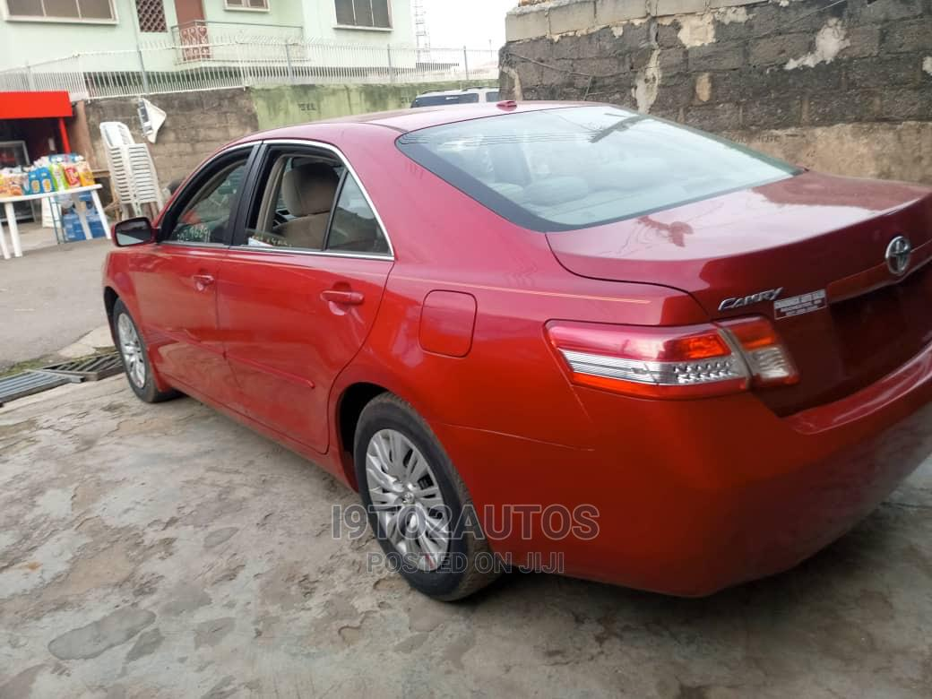 Archive: Toyota Camry 2011 Red