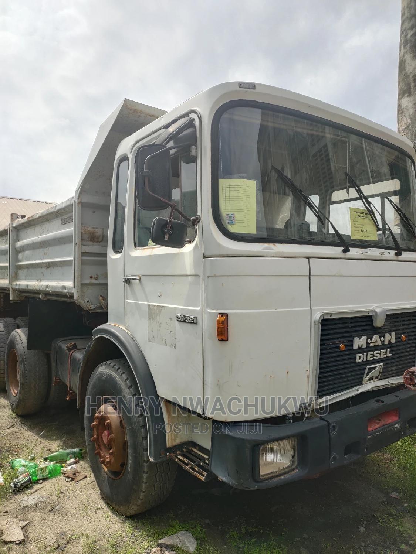 Tokunbo Man Diesel Tipper 10tyres