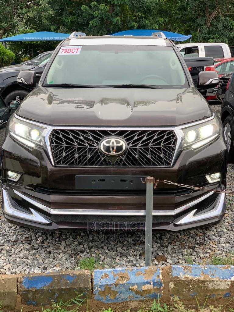 New Toyota Land Cruiser Prado 2020 4.0 Brown