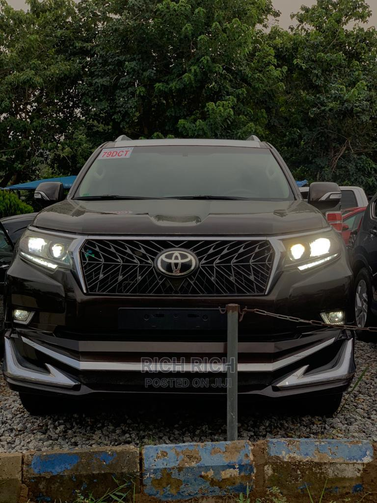 New Toyota Land Cruiser Prado 2020 4.0 Brown | Cars for sale in Central Business District, Abuja (FCT) State, Nigeria
