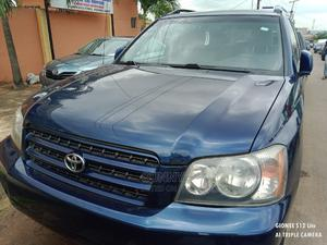 Toyota Highlander 2003 Blue   Cars for sale in Lagos State, Ikeja