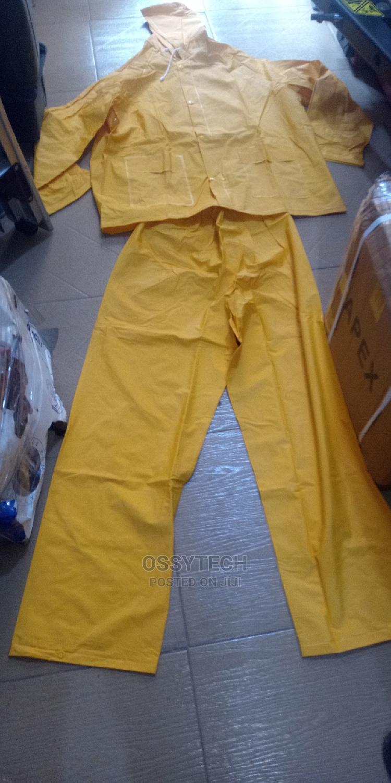 PVC Safety Raincoat