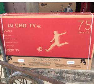 75inch LG Smart TV   TV & DVD Equipment for sale in Lagos State, Magodo