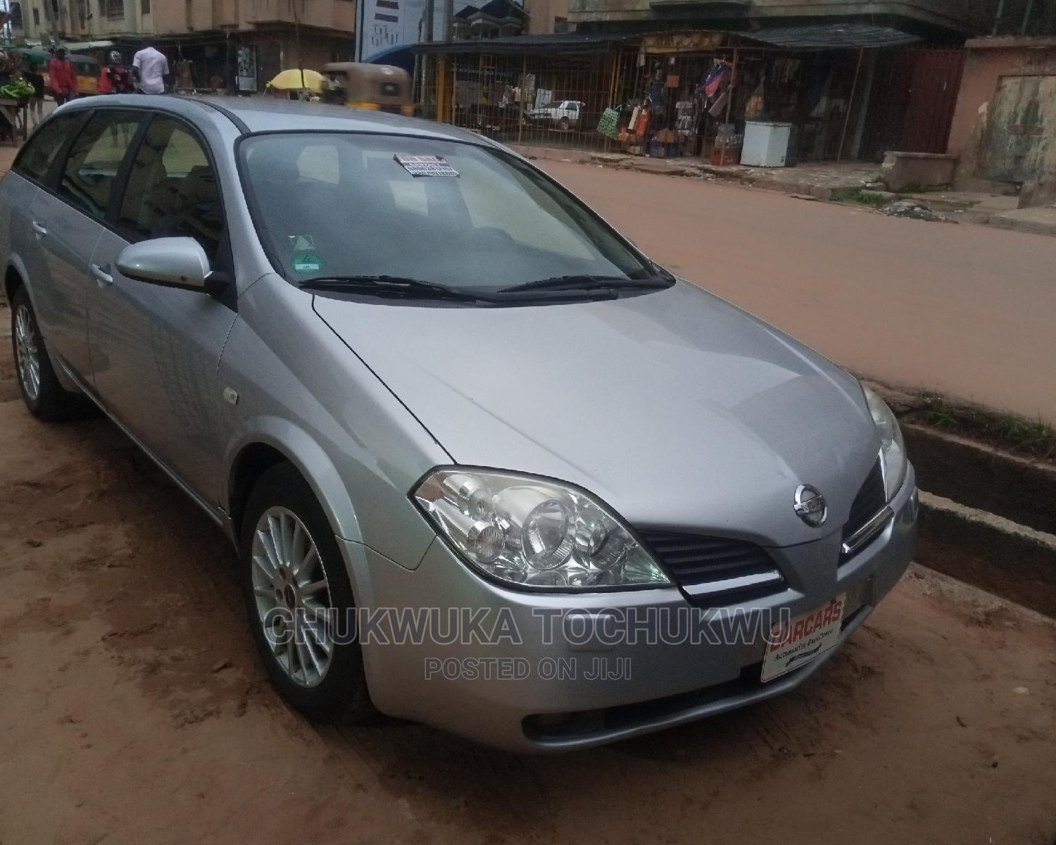 Nissan Primera 2005 Silver   Cars for sale in Onitsha, Anambra State, Nigeria