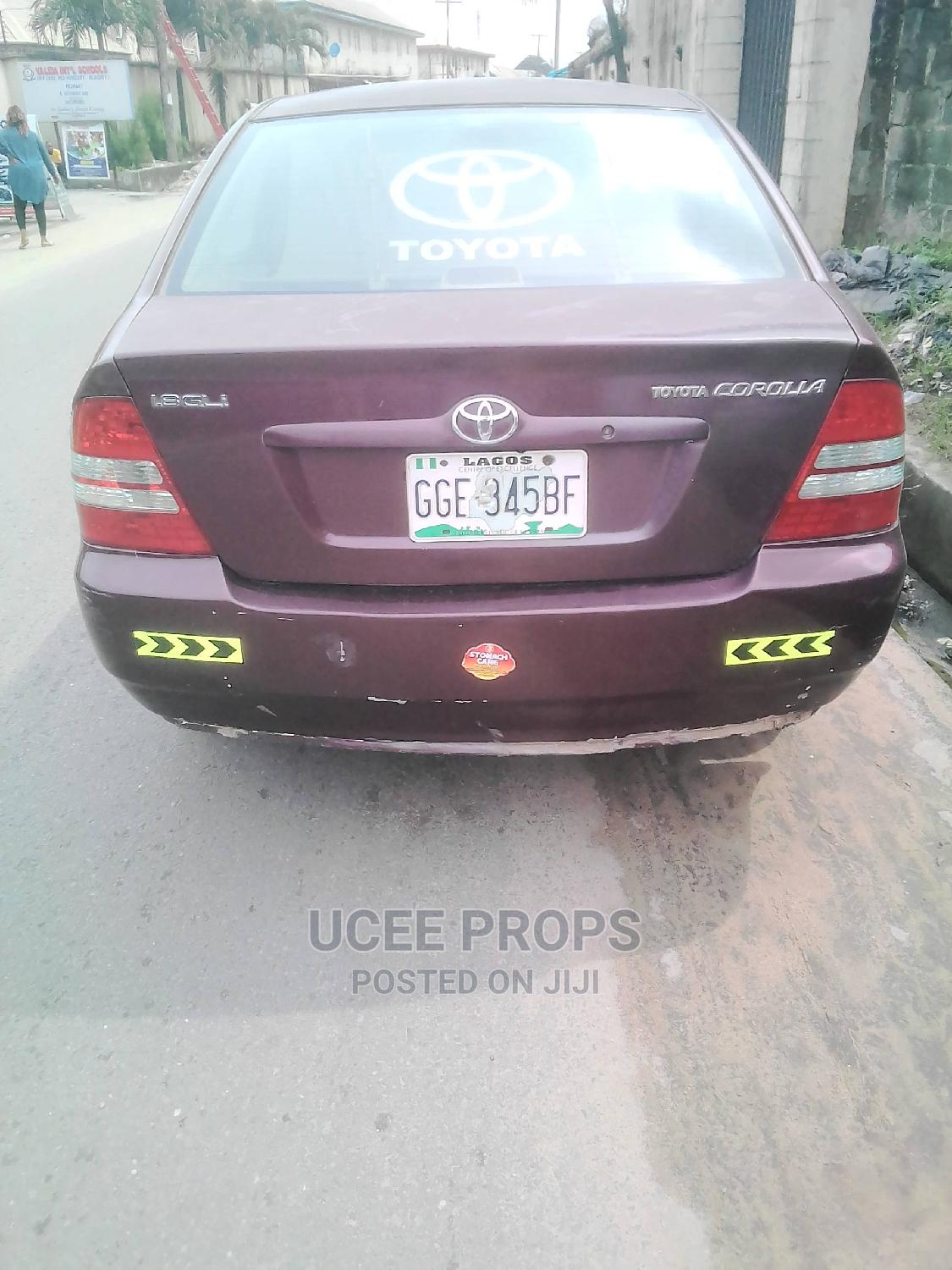 Toyota Corolla 2004 Red | Cars for sale in Obio-Akpor, Rivers State, Nigeria