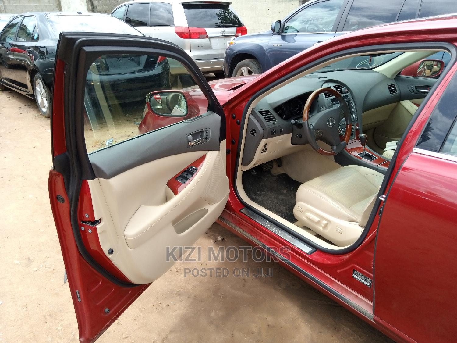 Lexus ES 2009 350 Red | Cars for sale in Isolo, Lagos State, Nigeria