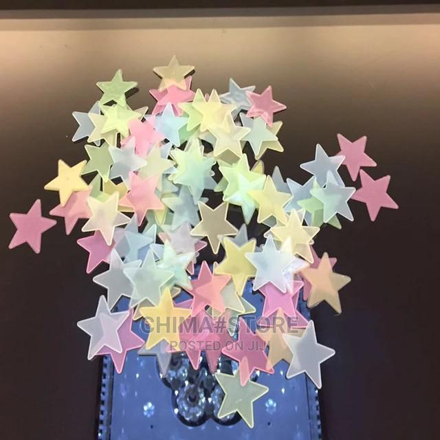 50pcs 3D Stars Glow in the Dark Wall Stickers | Home Accessories for sale in Lagos Island (Eko), Lagos State, Nigeria