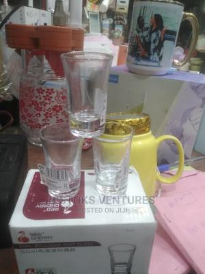 6pcsshot GLASS for Liqur /Tequila   Kitchen & Dining for sale in Lagos State, Lagos Island (Eko)