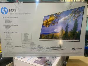 HP M27f FHD Monitor(2G3D3AS)   Computer Monitors for sale in Lagos State, Ikeja