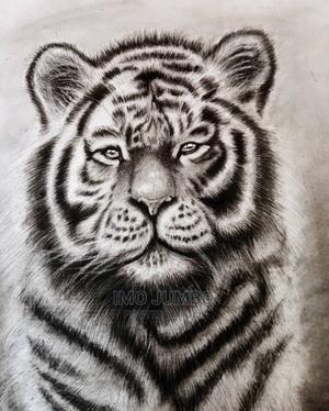 Pencil Portrait Drawing of a Tiger | Arts & Crafts for sale in Enugu State, Enugu