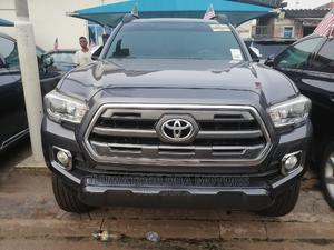 Toyota Tacoma 2016 4dr Double Cab Gray | Cars for sale in Lagos State, Alimosho