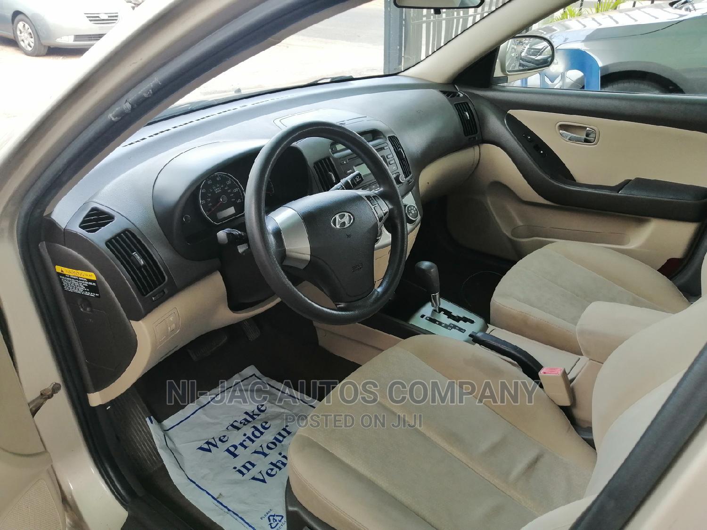 Hyundai Elantra 2010 GLS Gold | Cars for sale in Ojodu, Lagos State, Nigeria