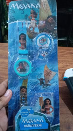 Moana Oceania Kids 3D Digital Glow Led Lighted Wrist Watch | Babies & Kids Accessories for sale in Lagos State, Kosofe