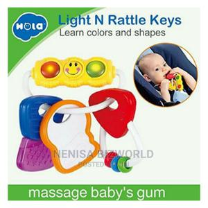 Baby Colourful Rattle Toys And Teether With Lights | Baby & Child Care for sale in Lagos State, Kosofe
