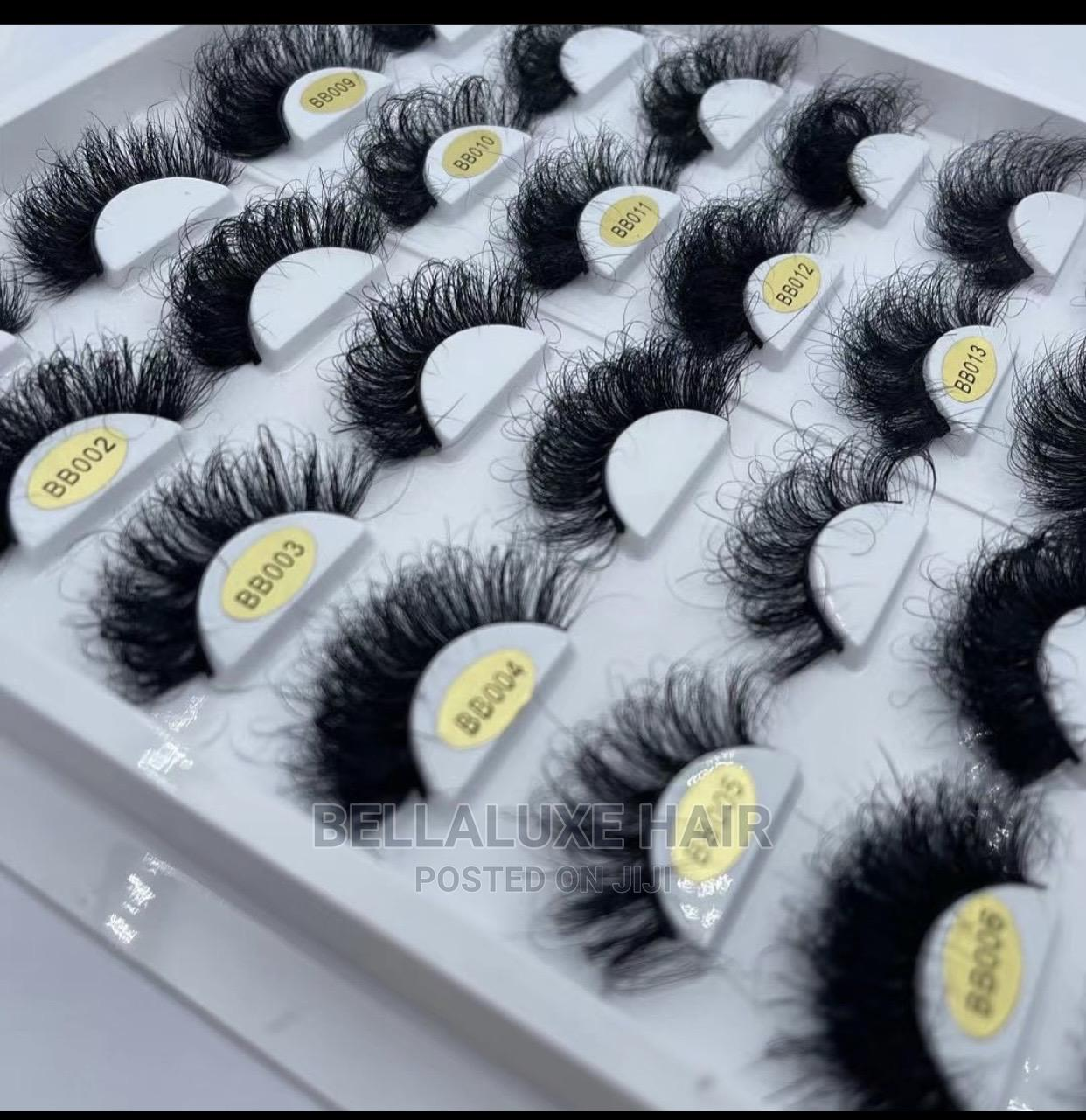Archive: Mink Lashes and Human Hair Lashes