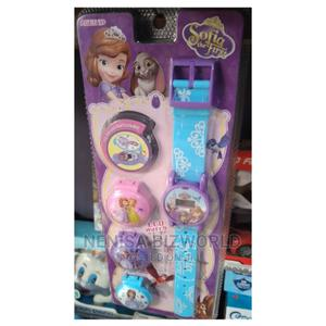 Kids Sophia Digital Wrist Watch With Multi Casing and Lights | Babies & Kids Accessories for sale in Lagos State, Kosofe