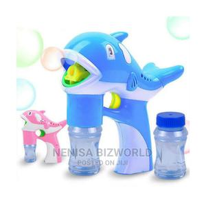 Kids Electronic Dolphin Shape Fun Bubble Gun Shooter Blower | Toys for sale in Lagos State, Kosofe