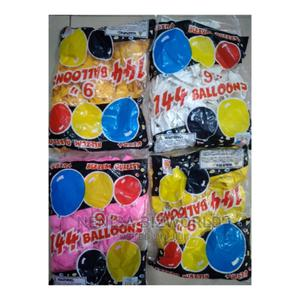 Colourful Packs of Quality Latex Party Baloons Fr Decoration | Toys for sale in Lagos State, Kosofe