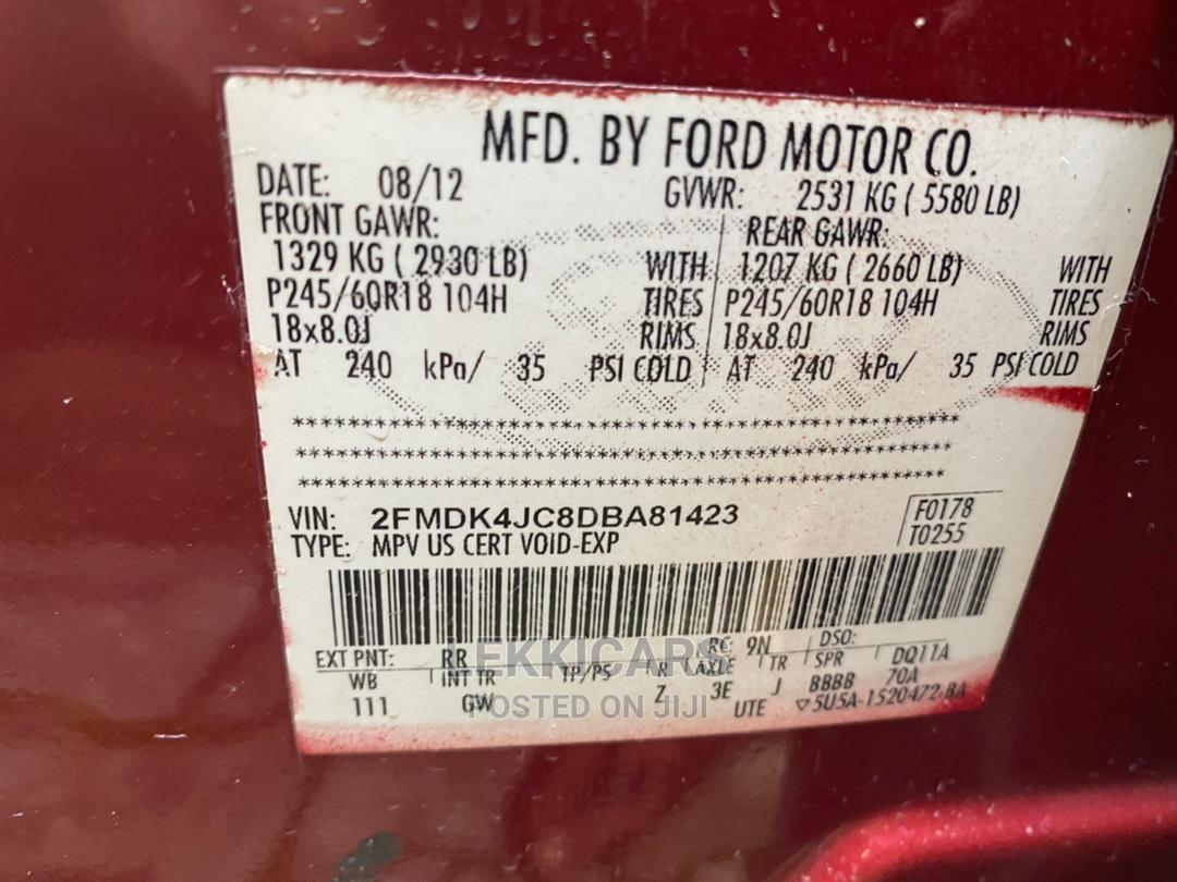 Archive: Ford Edge 2012 Red